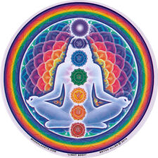 Light Body Chakras - Spiritual Window Sticker / Decal