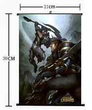 Hot game League of Legends lol Wall Scroll Home Decor Code 30*21CM 394