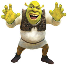Shrek Totally Movable Wall Sticker Decal - Easy Remove / Reuse