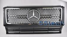 Mercedes G Class W463 Grille Grill G500 G55 02~12 AMG Black (G63-GG)