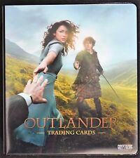 Cryptozoic Outlander Complete Silver Mini-Master Set Binder M37 B1 Trading Cards