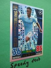 Topps Match Attax 15 16 Champions League Pro 11 Sterling Manchester City  2016