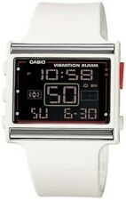 Casio LDF10-7A Ladies White POPTONE LED Fashion Casual Sports Watch Resin Alarm