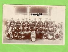 Military Band West Kent Light Infantry ? RP pc used 1910 Sandgate Ref A851