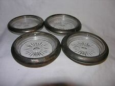 Silver Plated Coasters Made In Italy