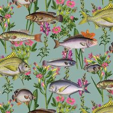 Lagoon Teal Tropical Fish Ocean River Fishes Feature Wallpaper Holden 12171