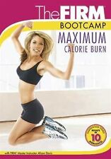 Cardio and Toning EXERCISE DVD - The Firm BOOT CAMP MAXIMUM CALORIE BURN!