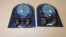 Lot of 2 NEW Cardio Theater HP-101 HP 101 Digital Hi-Fi Stereo Headphones