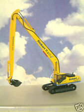 SUPERB OXFORD DIECAST 1/76 KOMATSU PC340 TRACKED EXCAVATOR STOBART RAIL 76KOM002
