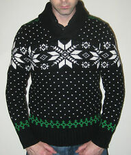 Ralph Lauren Polo Snowflake Fairisle Christmas Sweater - Size Small - $225 MSRP