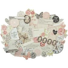 Kaisercraft P.S I LOVE YOU Collectables - Die-cut Shapes - over 50 pieces