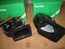 LUCAS HORN SET MGA MGTD MGTF AUSTIN HEALEY JAGUAR XK140 XK150 XJ6