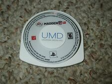 Madden NFL 12 (Sony PSP, 2011) Disk Only Football