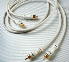 DH Labs Silver Sonic White Lightning 4 meter pair RCA Interconnect Cable
