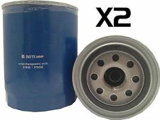2x Oil Filter Suits Z416 / Z502 NISSAN PATROL GQ / GU