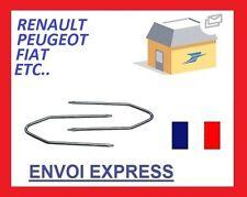 2 clés d'extraction de démontage autoradio PEUGEOT toutes 106 107 206 306