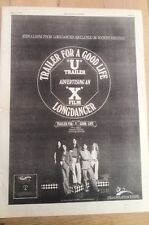 LONGDANCER Trailer for A Good Life 1974 UK Poster size Press ADVERT 16x12 inches