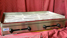 """NEW 48"""" Gas Griddle Flat Top Grill Stratus Commercial Restaurant #1225 NSF Stove"""