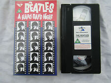 VIDEO VHS BEATLES A HARD DAY'S NIGHT excellent