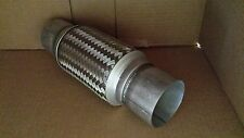 "3"" X 8"" X 12""  STAINLESS STEEL EXHAUST FLEX PIPE OVERALL 12"" HEAVY DUTY"
