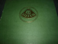 50th ANNIVERSARY LOTUS WILLIAM TAYLOR 21 18 26R 23 22 19 29 72 49 39 ELAN ESPRIT