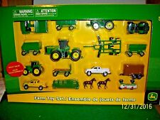2016 Ertl Tomy Mini John Deere Farm Toy Play Set New in Box