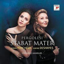 STABAT MATER - SONYA YONCHEVA/KARINE DESHAYES/+ CD NEU G.B.PERGOLESI