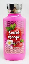 1 Bath & Body Works Sweet Escape Strawberry Picnic Body Lotion / Hand Cream
