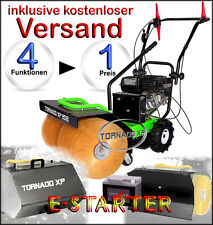 Kehrmaschine 80 er Breite für Schnee & Schmutz mit Elektrostarter,1 A Qualität