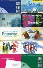 10 Telefonkarten (gebraucht, diverse Serien) #1