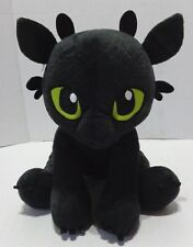 Build A Bear How To Train Your Dragon Roaring Toothless Black Plush No Wings