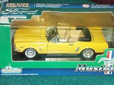 SUNNYSIDE 1964 1/2 FORD MUSTANG CONVERTIBLE 1/24 TELLOW