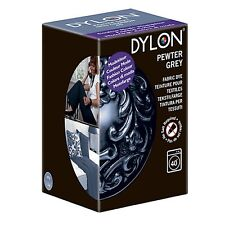 Dylon PEWTER GREY MACHINE DYE 200g Fabric Cotton New Clothes Material Jeans