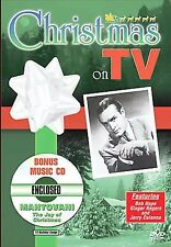 Bob Hope Christmas on TV (DVD, 2005) Bonus Mantovani CD NEW Sealed