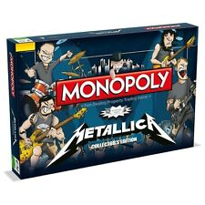 Monopoly Metallica Rock Band Brand New