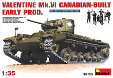 Miniart 1/35 Valentine Mk. VI early production (Canadian Build) #35123 *Sealed*