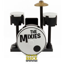 LEGO 'The Mixies' Drum Kit - Inc two Drums, Bass Drum, Symbol & Seat. NEW