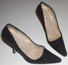 MANOLO BLAHNIK Pumps in schwarz Gr. 36 Leder