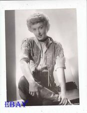 Barbara Stanwyck sexy cowgirl VINTAGE Photo Cattle Queen of Montana
