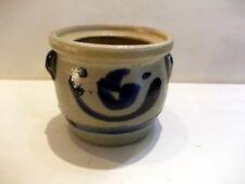 Little mustard jar - clay blue/grey - grès - kleine mosterd pot