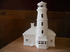C-0726 Ceramic Bisque Ready to Paint Brick and Stone Lighthouse