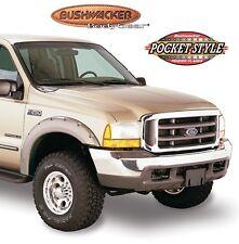 BUSHWACKER 20049-02 Front Blk Pocket Style Fender Flares for 99-07 F250/350/450