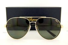 New Chopard Sunglasses SCH 880 300Z GOLD BLACK/ GRAY-GREEN POLARIZED