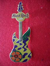 HRC Hard Rock Cafe Online Retro Flowers Guitar Series 2005 No9 LE300