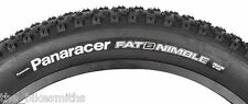 "Panaracer Fat B Nimble 26""x 4.0 Wire Bead Fat Bike Fast Tire Black fits Surly"