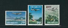 TAIWAN 1963 AIRMAILS set complete (Scott C73-75) VF MNH