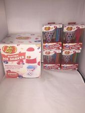 Jelly Belly ELECTRIC ICE SHAVER / Snow Cone Maker w/ 84 Cups & Straws JB15315