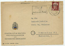 16724 - Stempel: Fördert die nationale Front - Bautzen 16.1.1951 - Stadtmuseum
