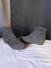 boots/bottines accessires diffusion daim anthracite 38