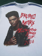 BRUNO MARS moonshine jungle 2014 tour LARGE concert T-SHIRT